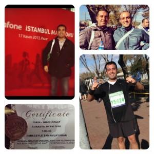Istanbul Maratonu Onur Ozalp